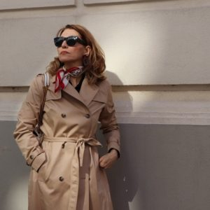 the timeless trenchcoat