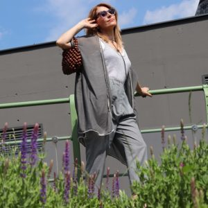 Grey colour in the summer