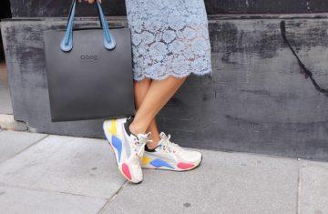 sneakers in fall