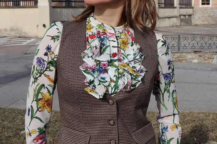 waistcoat and trousers